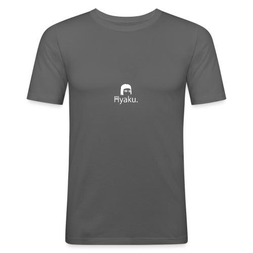 Hyaku White - Slim Fit T-skjorte for menn
