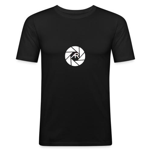 AR Photography Aperture - Men's Slim Fit T-Shirt