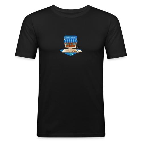 desarrollo-tienda-online-virtual - Camiseta ajustada hombre