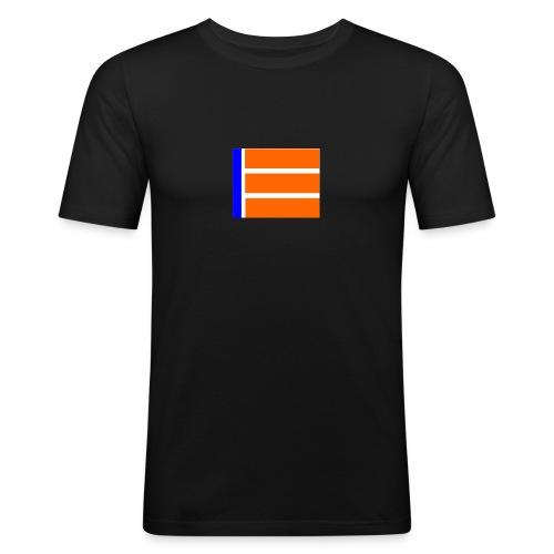 BG LOGO - Männer Slim Fit T-Shirt