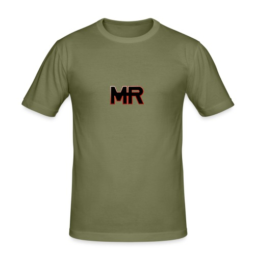MR logo - Herre Slim Fit T-Shirt