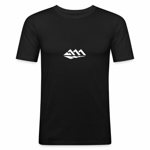 111NN Logo Klein - Männer Slim Fit T-Shirt
