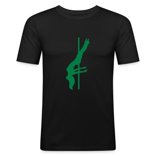Pole Dance - Maglietta aderente da uomo