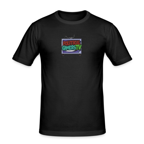 Politcial Gamers TV Shop - Men's Slim Fit T-Shirt