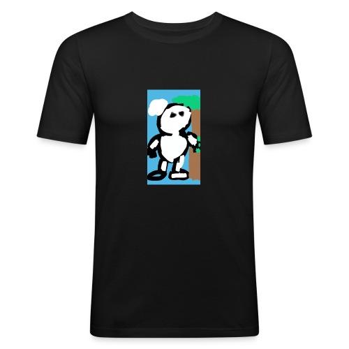 My_picture_15e3a009-de4e-43d4-8b17-af4a63f89127 - Mannen slim fit T-shirt