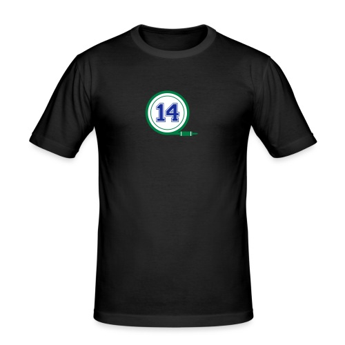 D14 Alt Logo - Men's Slim Fit T-Shirt