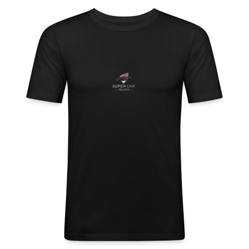 SuperCarIsland - Men's Slim Fit T-Shirt