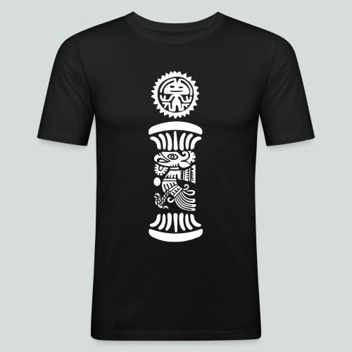 Mayan Sun - Maglietta aderente da uomo