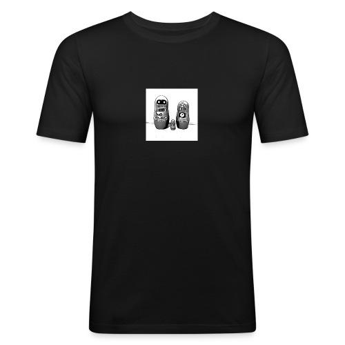 0342 Shirt ROBOT Bot IIII - Männer Slim Fit T-Shirt