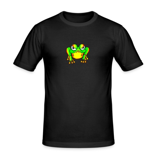 Angry Frog - T-shirt près du corps Homme
