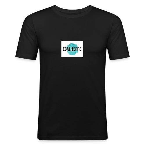 EgaliTerre - T-shirt près du corps Homme