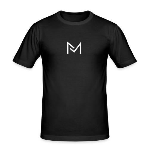 YouTube Logo For MarcelMedia - Men's Slim Fit T-Shirt
