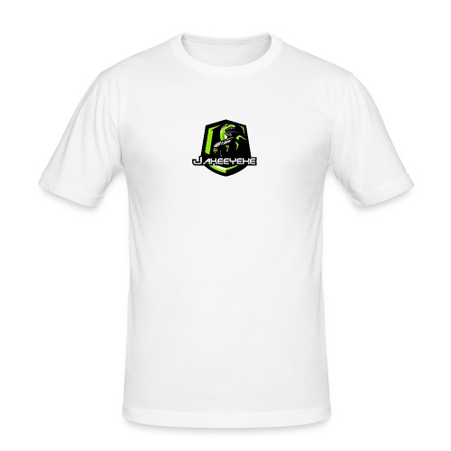 JakeeYeXe Badge - Men's Slim Fit T-Shirt