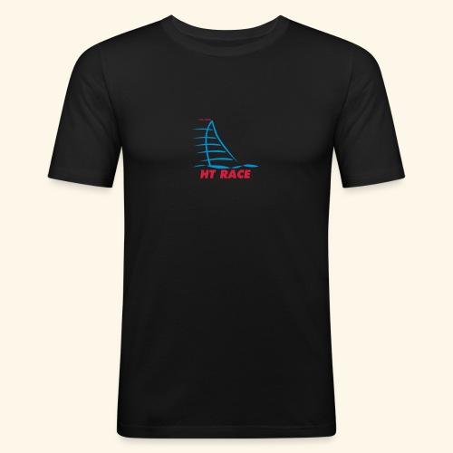 HT LOGO - Mannen slim fit T-shirt