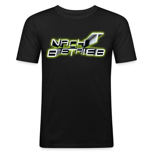 Nacht Betrieb Logo - NoFB - Männer Slim Fit T-Shirt