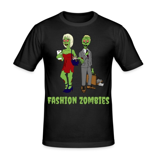 Fashion Zombie - Men's Slim Fit T-Shirt