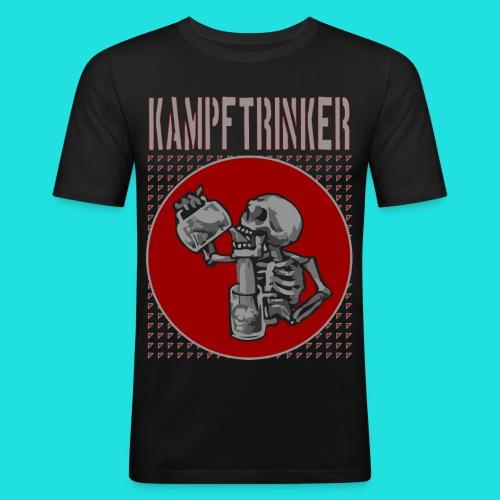 Kampftrinker - Männer Slim Fit T-Shirt