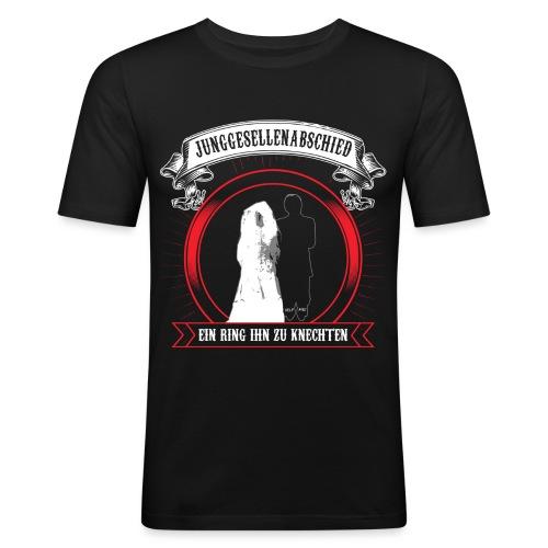 Help ME - Männer Slim Fit T-Shirt