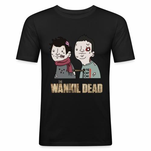 The Wankil Dead - T-shirt près du corps Homme