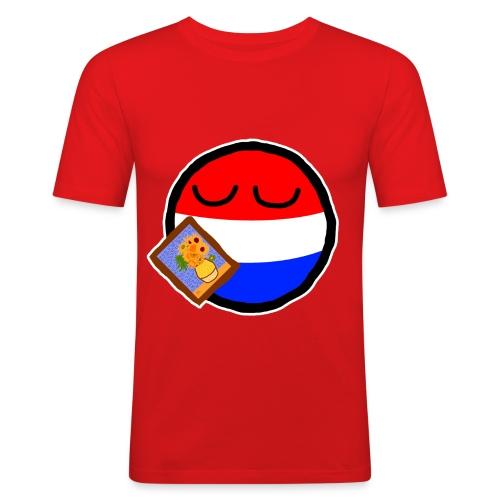 Netherlandsball - Men's Slim Fit T-Shirt