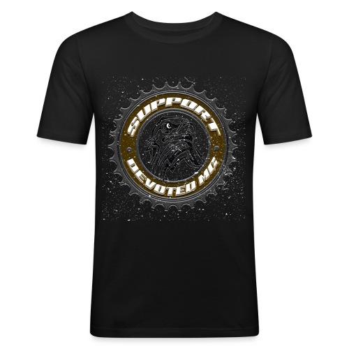 Sprocket Support - Slim Fit T-skjorte for menn