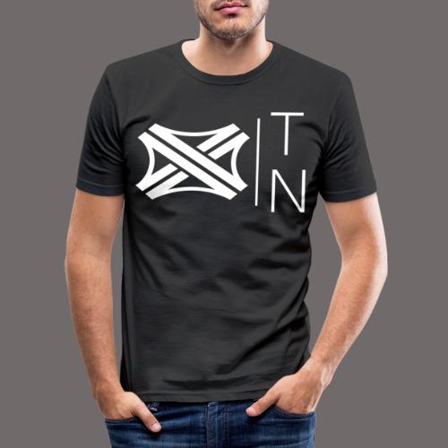 Tregion logo Small - Men's Slim Fit T-Shirt