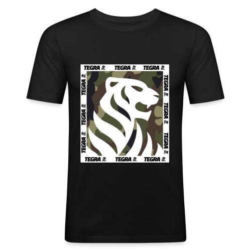 camo square png - Men's Slim Fit T-Shirt