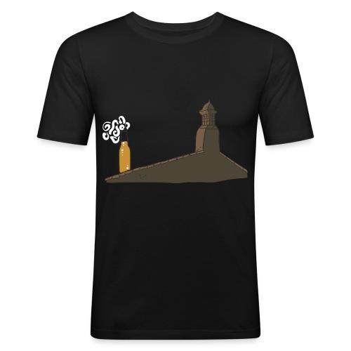 Habemus Beer Hoodies - Männer Slim Fit T-Shirt