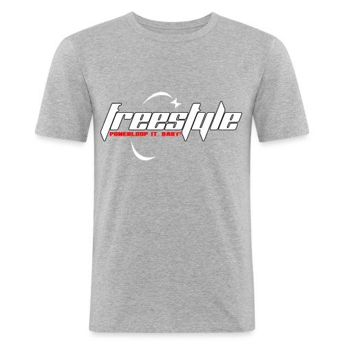 Freestyle - Powerlooping, baby! - Men's Slim Fit T-Shirt