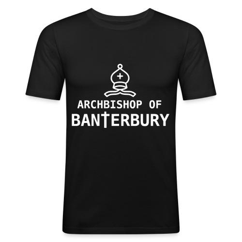 Archbishop of Banterbury 2 - Men's Slim Fit T-Shirt