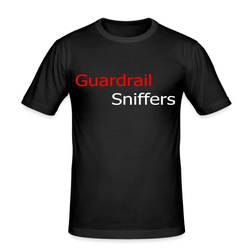 GS Logo lang - Männer Slim Fit T-Shirt