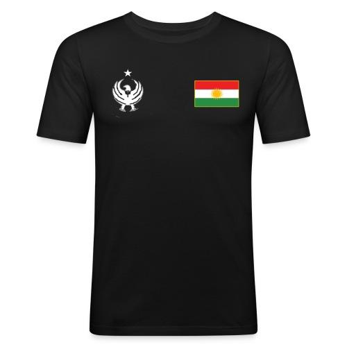 Maillot Kurdistan - T-shirt près du corps Homme