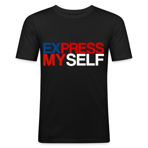 Express png - Men's Slim Fit T-Shirt