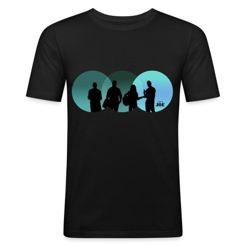 Motiv Cheerio Joe blue - Männer Slim Fit T-Shirt
