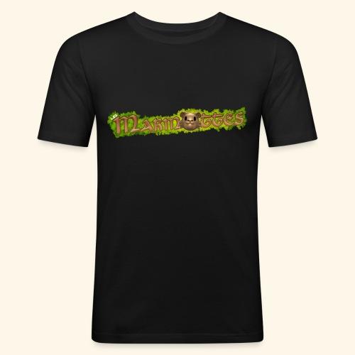 marmottes logo HD - T-shirt près du corps Homme
