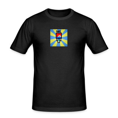 Qanz Gaming Deksel - Slim Fit T-skjorte for menn