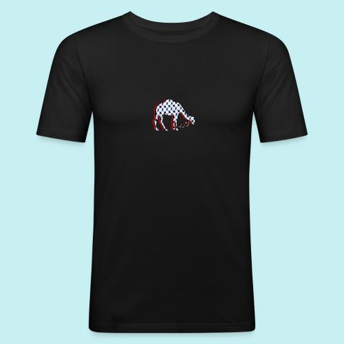 Camel Keffieh - T-shirt près du corps Homme