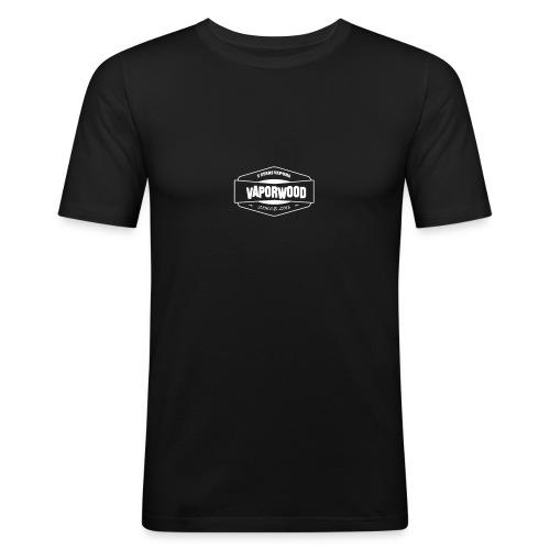 VaporwoodLogo - Männer Slim Fit T-Shirt