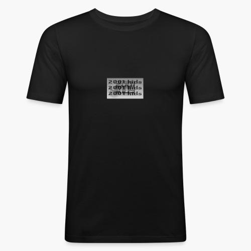 2001kids - Obcisła koszulka męska