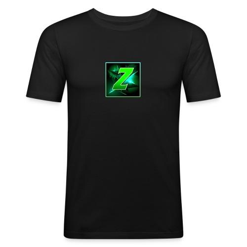 Youtube Logo - Men's Slim Fit T-Shirt