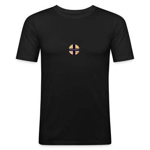 ! - Slim Fit T-shirt herr