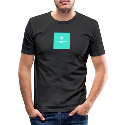 ny video hver dag - Herre Slim Fit T-Shirt