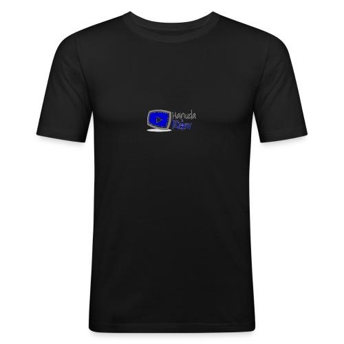 hanuda - Männer Slim Fit T-Shirt
