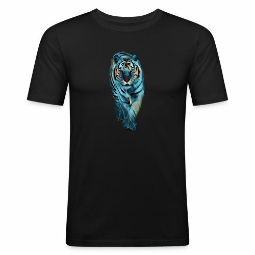 Tigre Caminando MEDIANO - Camiseta ajustada hombre