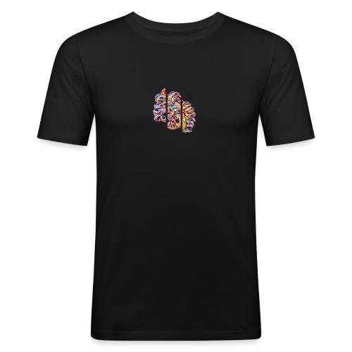 Logo casual - Maglietta aderente da uomo