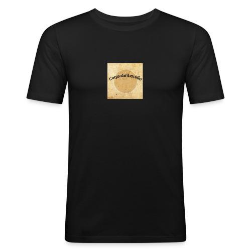 aqua - T-shirt près du corps Homme