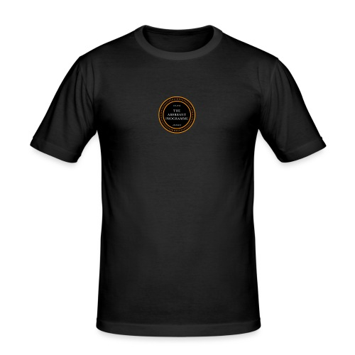 Aberrent Founders Logo - Men's Slim Fit T-Shirt