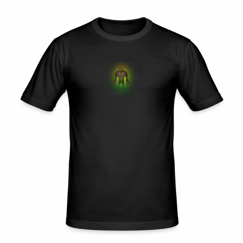 1980's Bigfoot Glow Design - Men's Slim Fit T-Shirt