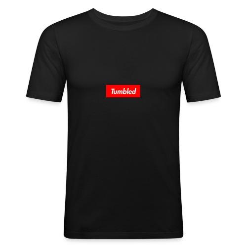 Tumbled Official - Men's Slim Fit T-Shirt