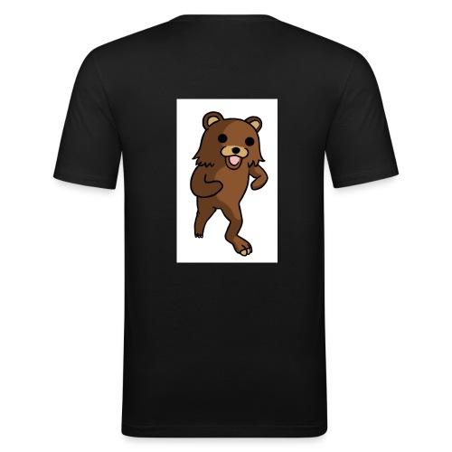 QR-code - Männer Slim Fit T-Shirt